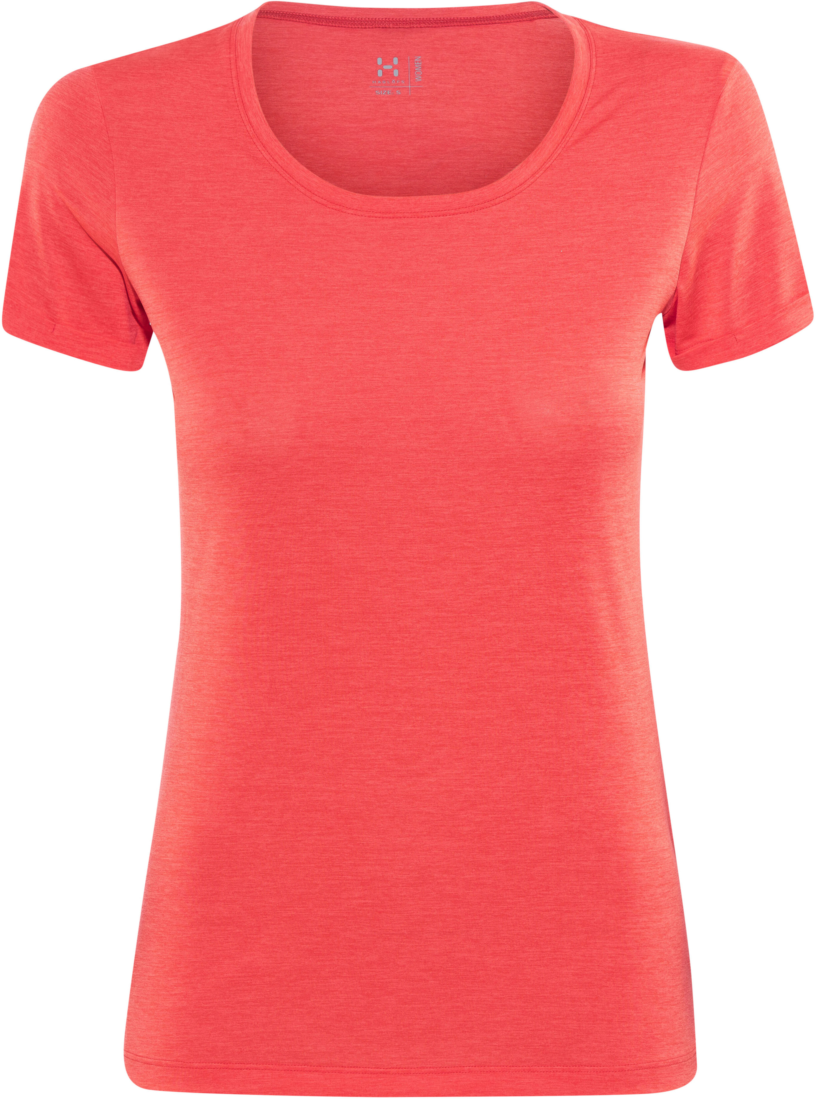 d677c67b2 Haglöfs Ridge Hike Tee Women carnelia | campz.at